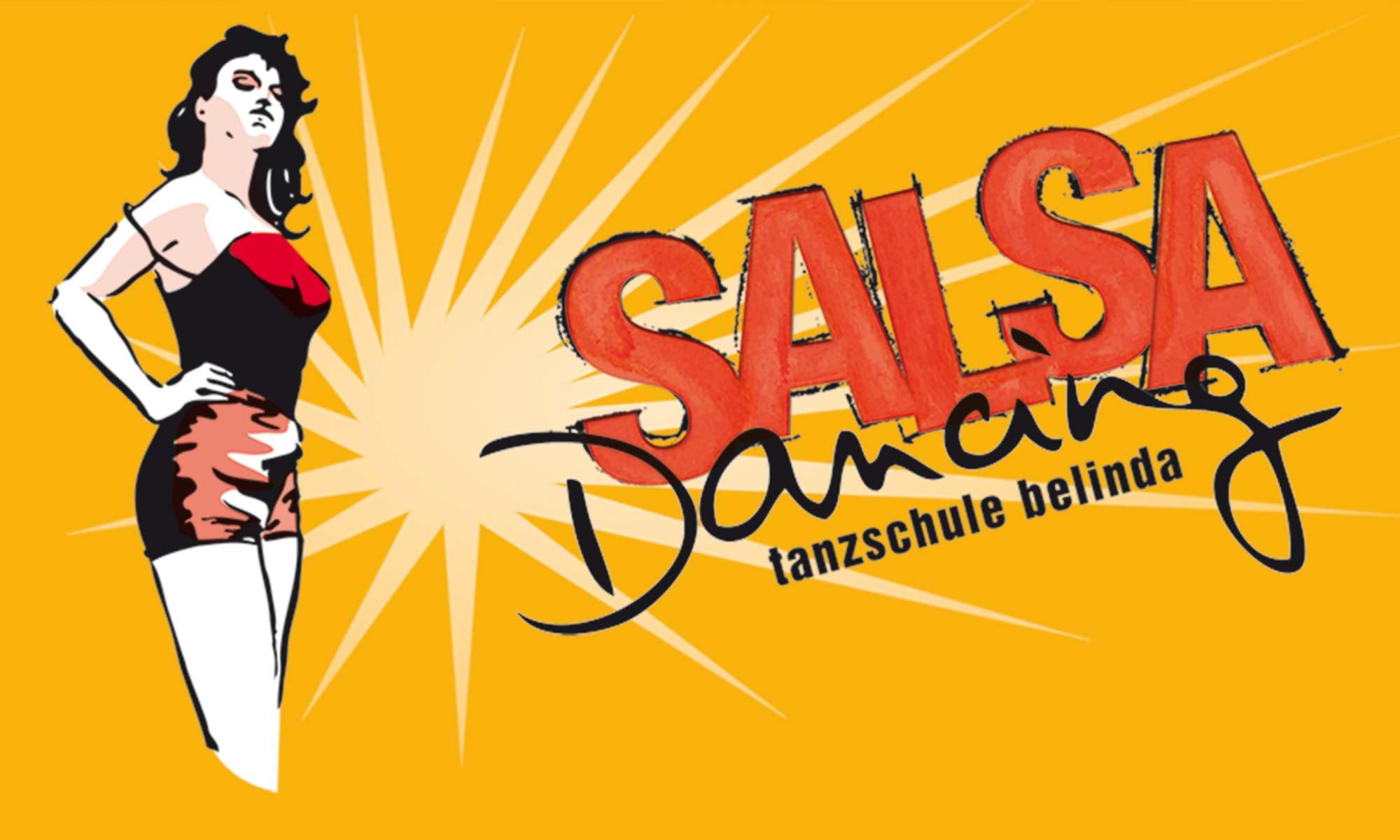 Plakat salsa-dancing